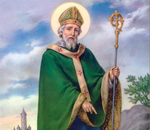 Preghiera di san patrizio contro i malefici cappellina - St patricks giorno fogli di colore giorno ...